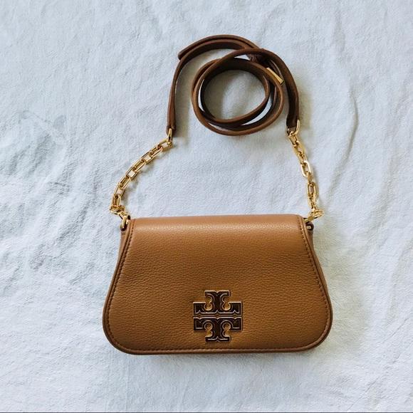 98bf6a5ab55d 35% off Tory Burch Bags Britten Mini Bag Brown